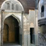 Madrasa, a boys' school, in Fez
