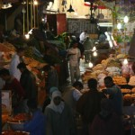 An open air market in Fez on our second trip