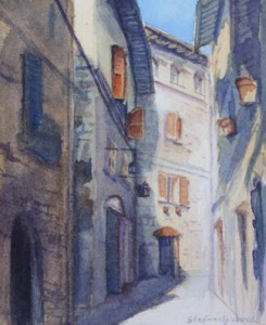 Alley in Assisi