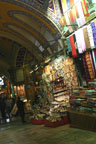 The bustling Grand Bazaar in Istanbul