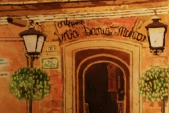 """Villa Antiqua""Batik on PaperDavid Lucht"