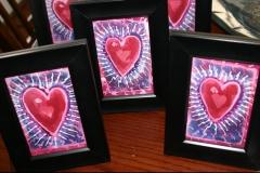 """""""Hearts"""" 4""""x5"""" $30"""