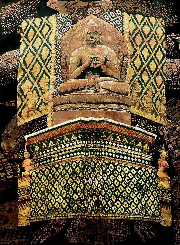 """""""Buddhagator"""" 24x18 $3000"""