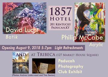 1857 Hotel Art Exhibition David Lucht